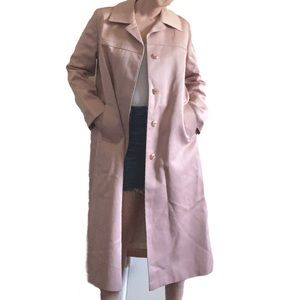 VTG London Fog | Pink Trench Coat